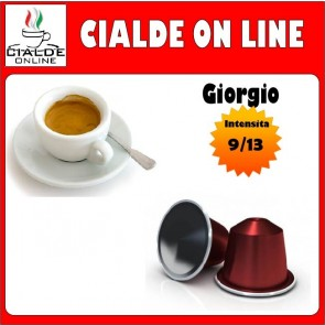 Capsule Cialde Online | Giorgio | Compatibili Nespresso