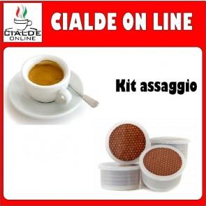 Capsule Cialde Online | Kit Degustazione 100  | Compatibili Lavazza Espresso Point